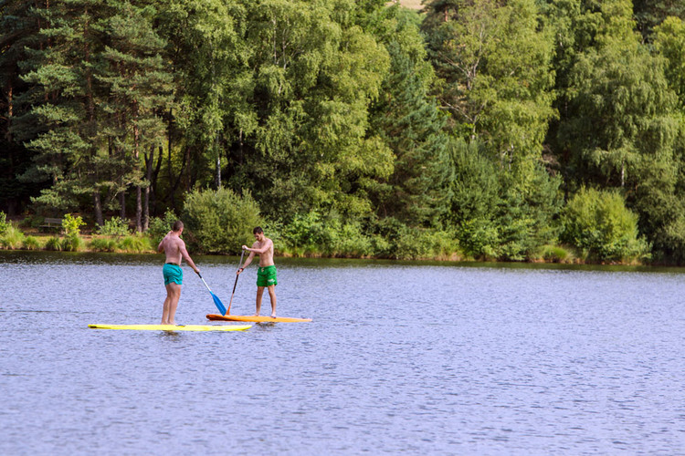 Stand up paddle plan d'eau de Miel
